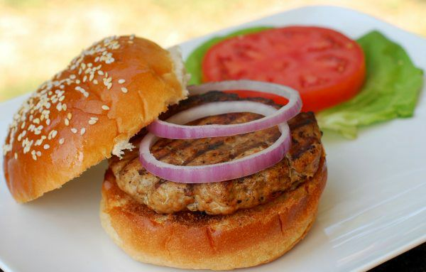 Jerk Turkey Burger