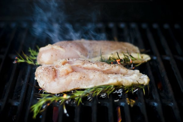 Grilled Chicken Breasts Infused With Rosemary Grilling Companion