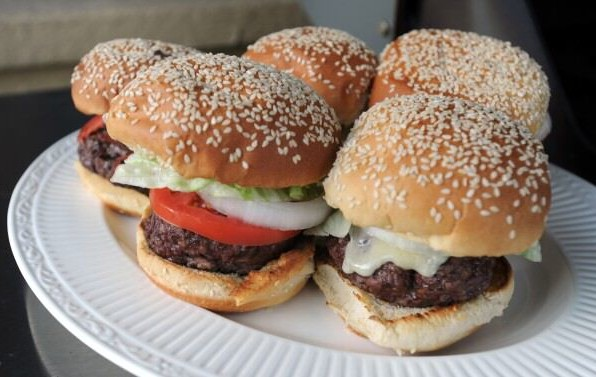 how to cook tvp burgers