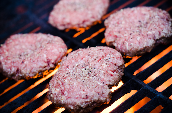 How to make hamburgers not stick to grill