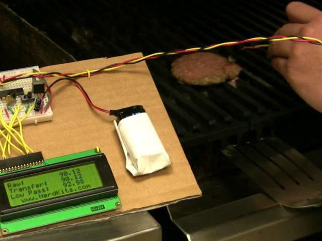 Nerd Kit meat thermometer