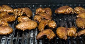grill wings after smoking
