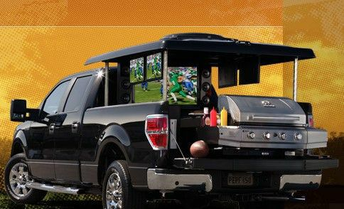 Tailgaite Sweepstakes Decked out Ford F150