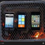 Grilled smart phones