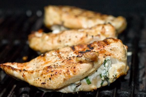 Grilled Stuffed Chicken Breasts Grilling Companion