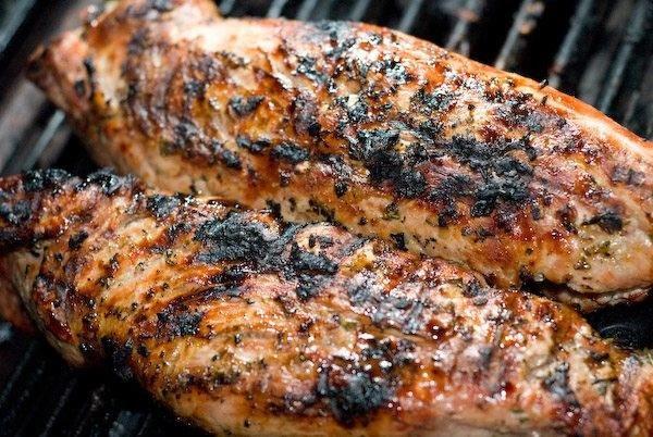Grilled Rosemary Pork Tenderloin