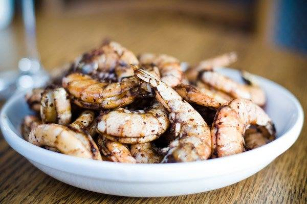 Grilled Shrimp with Ancho Chili and Cinnamon