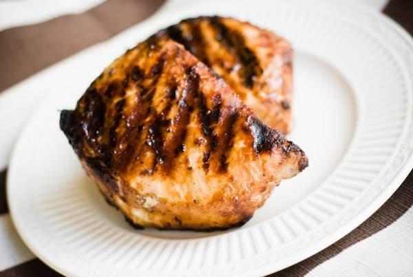 Grilled hoisin pork chops