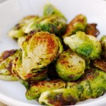 Grilled Pesto Brussels Sprouts