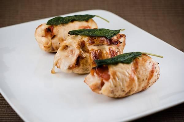Prosciutto and Fontina Chicken
