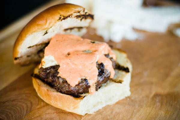 Feta Greek Burger
