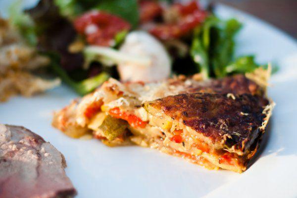 Grilled Veggie Torte