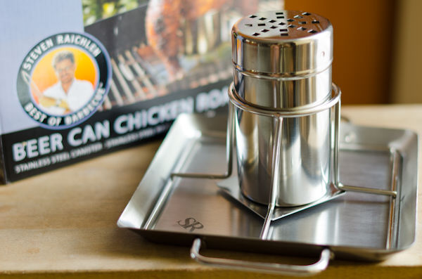 Steven Raichlen Stainless Steel Beer Can Chicken Roaster