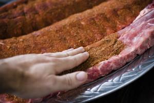 simple pork rib rub