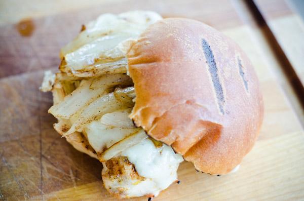 gruyere chicken sandwich