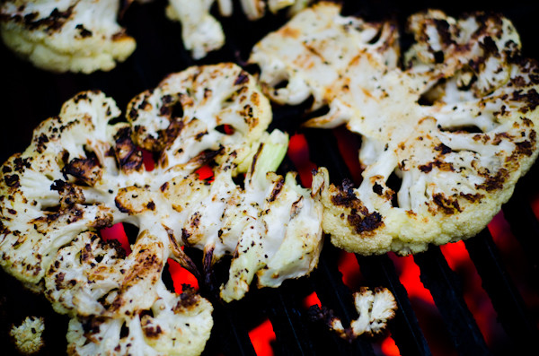 grilled cauliflower steak