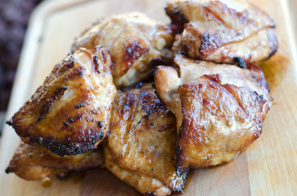 Orange and Soy Marinated Chicken Thighs | Grilling Companion