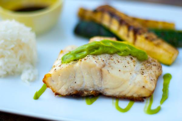 Grilled Fish Grilling Companion
